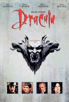 ICYMI: Throwback Thursday: Bram Stoker's Dracula Movie Synopsis: The vampire comes to England to… Dracula Cast, Bram Stoker's Dracula, Newest Horror Movies, Best Costume Design, Francis Ford Coppola, Best Horrors, Gary Oldman, Tv Series Online, Romance Movies