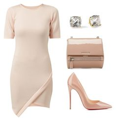"""Untitled #65"" by aliciapickett ❤ liked on Polyvore featuring Fashion Union, Givenchy, Christian Louboutin and Kate Spade"