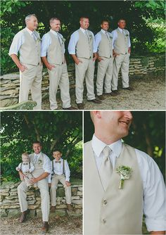 tan groomsmen attire @weddingchicks
