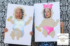 Funny for baby shower - Fotos Baby Shower, Baby Shower Photo Booth, Baby Shower Photos, Fiesta Baby Shower, Tea Party Baby Shower, Baby Shower Games, Baby Party, Bebe Shower, Baby Boy Shower