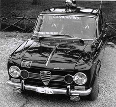 Alfa Romeo Giulia Super - Italian 'Carabinieri'