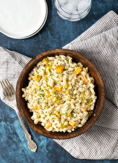 (via Jalapeno Popper Macaroni Salad - The Chunky Chef)