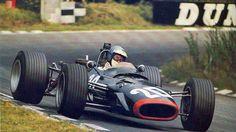 1968 British Grand Prix, Brands Hatch. Piers Courage in the BRM P126.
