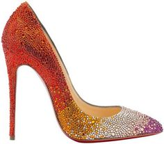 ad130fbf67c Christian Louboutin  Pigalle Follies Strass Dégradé  from fall 2014