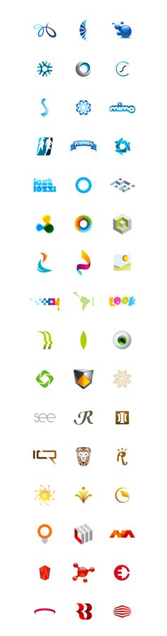 Logos 2011 · 2012 by Dinard da Mata, via Behance