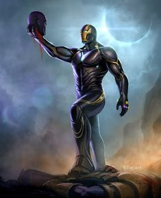 Avengers End Game: Iron man Mark 86 decapted Thanos head_Image may contain: one or more people Marvel Fanart, Marvel Dc Comics, Marvel Heroes, Marvel Avengers, Avengers Series, Iron Man Wallpaper, Marvel Wallpaper, Mobile Wallpaper, Iron Man Pictures