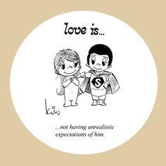 """il fumetto degli anni 70 """"Love is..."""" (Amore è...) disegnato da Kim Casali"""