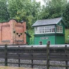 Signal box at Rothley on the Great Central Railway