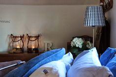 Denim in bedroom, cool!