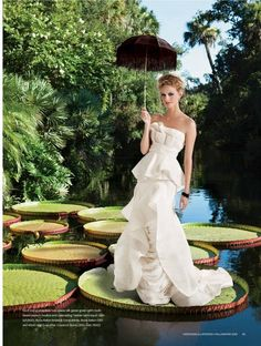 Another cool shoot with Vera Wang gown, great art direction