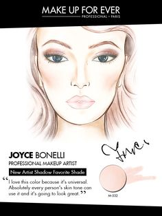 MAKE UP FOR EVER 30 Years. 30 Colors. 30 Artists. Joyce Bonelli's favorite shade M-532.