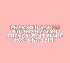 """""""don't feel guilty about saying no, it's okay. """" X """""""