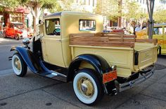 Vintage Trucks Classic 1930 Ford Model A Pickup - Owner Jerry Martin Livermore Old Ford Trucks, Vintage Pickup Trucks, Vintage Cars, Vintage Ideas, Ford Classic Cars, Classic Chevy Trucks, Antique Trucks, Antique Cars, Ford Motor Company