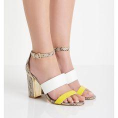Tessa Covered Block Heels