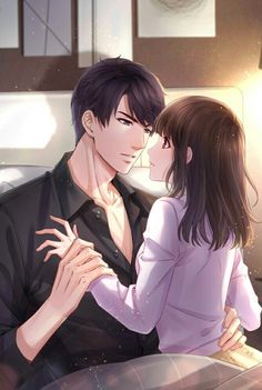 Lý trạch ngôn anime couples пары аниме, аниме арт и манга. Cute Couple Drawings, Anime Couples Drawings, Anime Couples Manga, Couple Manga, Anime Love Couple, Couple Art, Anime Cupples, Anime Kiss, Handsome Anime Guys
