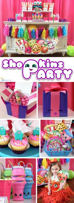 Check out our Shopkins party idea's page to help you plan the cutest party ever.