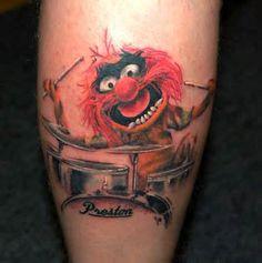 Tattoo Animal The Muppets
