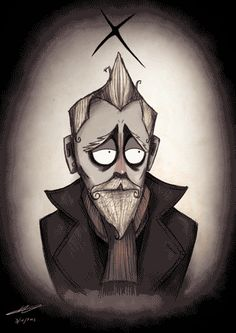 War-Doctor | Tim Burton-ized Doctor Who Characters Get Animated [Animated GIFs]
