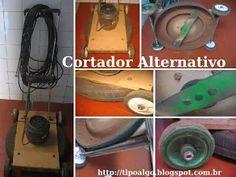 Foto: Cortador e triturador de grama alternativo - Motor elétrico de 1,5 CV e…