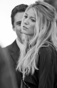 Blake Lively | Beautiful - love her hair here.  sort of looks like sienna miller.  gorgeous.
