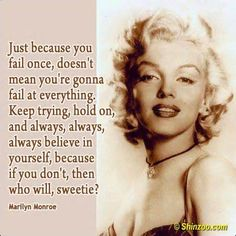 marilyn monroe Quotes and sayings picture 13 2 Great Quotes, Quotes To Live By, Inspirational Quotes, Motivational, Clever Quotes, Woman Quotes, Life Quotes, Qoutes, Faith Quotes