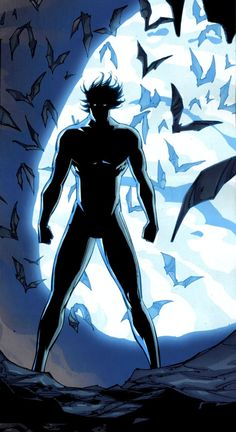 Under the shadow of the bat ... Nightwing