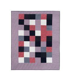 A.P.C. Heather Quilt | #fashion #square #geometric