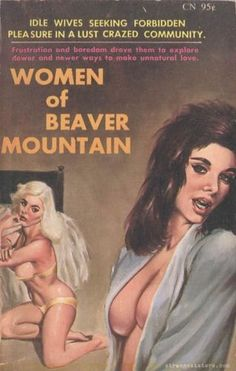 Take a hike up the Beaver - the mountain that is. (Is her hair made out of a beaver's tail?)