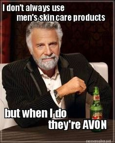 That's right! Men need skin care products too! Avon has what you are looking for! #skincareroutine #onlineshopping #AvonRep #WrinkleInTime
