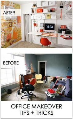 Office Makeovers: Tips + Tricks!