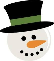 Image result for snowman head template