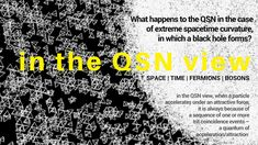 """Taken from Klee Irwin's Deep Thoughts blog """"What happens to the QSN in the case of extreme spacetime curvature, in which a black hole forms?  #kleeirwin #kleeirwindeepthoughts #klee #irwin #deepthoughts #blog #science #scientist #physics #physicist #theoreticalphysics #quantumphysics #quantum #gravity #research #quantumgravityresearch #QSN #quasicrystal #quasicrystalline #quasicrystallinespinnetwork #blackhole #spacetime #codetheory #20group #57group #fermions #bosons #trit #emergencetheory"""