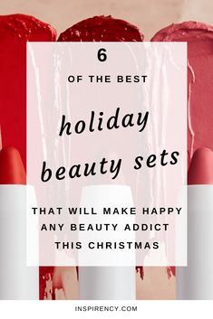 #Christmas is coming! To all the #beauty lovers out there, this means one simple thing: #Sephora Holiday's Sets are finally for sale! I've been seeing out there a ton of blog posts about this topic which increase my willing to try out some new things. Beauty #sets are a great way to test new #products or a product range that you don't know. If you're looking to buy for yourself or offer a beauty set, see the full #review on inspirency.com