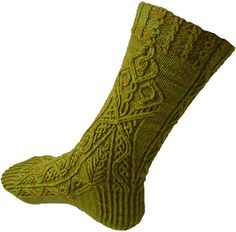 At the moment, this is an exclusive pattern (round #6) for Sock Madness 10, a speed knitting contest. (See the Sock Madness Forever group for more information.)