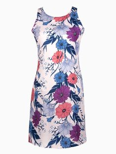 Floral Print Sleeveless Dress with Cut Out Back | Choies