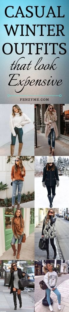 42 Casual Winter Outfits that look Expensive