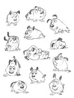 Effective Ways For Puppy Behavior Training Puppy Character Study by AriellaMay. Animation Sketches, Cartoon Sketches, Animal Sketches, Character Design Animation, Character Drawing, Dog Illustration, Character Illustration, Cartoon Expression, Drawing Expressions