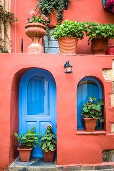 House in Hania, Crete, Greece