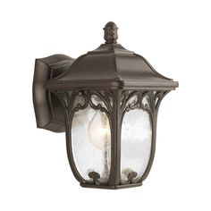 Progress Outdoor Wall Light with Clear Glass in Espresso Finish | P5967-84 | Destination Lighting