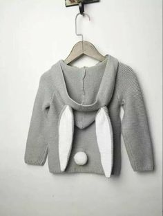 07a2feda3 2017 SPRING AUTUMN KIDS CANDY COLORS FASHION RABBIT EARS SWEATERS BABY BOY  CLOTHES BABY GIRL CLOTHES VETEMENT ENFANT GARCON-in Sweaters from Mother &  Kids ...