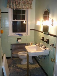 1949 Bathroom beofre . . .