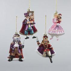 """5"""" Noble Gems Glass Nutcracker Suite Ornament Kurt S Adler, Inc. http://www.amazon.com/dp/B00EEQ8Y9U/ref=cm_sw_r_pi_dp_4R0Rub1SNW9F7"""