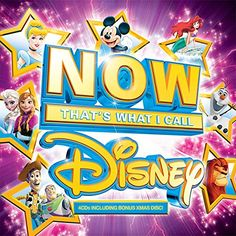 NOW That's What I Call Disney by Various Artists: Amazon.co.uk: Music   - THIS VERSION (with Olaf on)