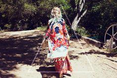 #boho #bohemian #fashion #style #kimono #colorful #print #bold