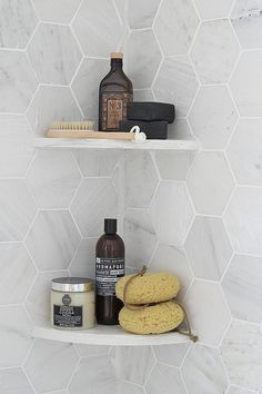Complete source list for bathroom makeover with white, black, gold, and marble
