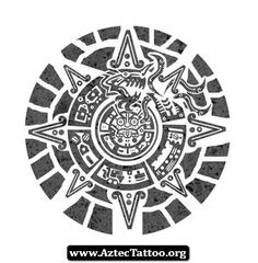 Aztec Tattoos Quetzalcoatl 04 - http://aztectattoo.org/aztec-tattoos-quetzalcoatl-04/