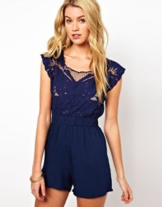 Sugarhill Boutique Butterfly Playsuit