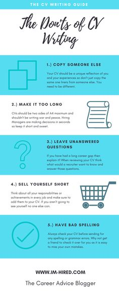 CV Tips 5 Ways to Make Your CV Stand Out Pinterest - 5 resume writing tips