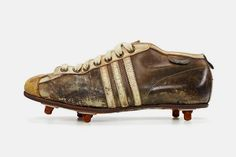 quality design 216a6 cfe75 the collection shows a selection of adidas classic football cleats from the  last 50 years including franz beckenbauer and david beckhams signature  models.