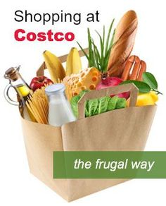 Shopping at Costco the Frugal Way - great ways to save your family money while shopping at warehouse stores.